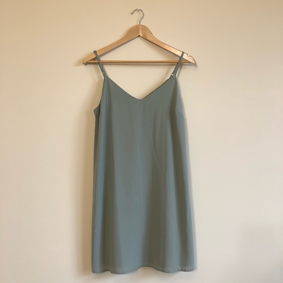 5ac20fdef9c Cotton On Dresses   Skirts - Sage Green Margot Slip Dress